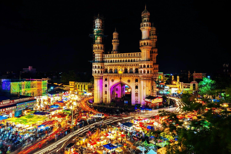 Mosque in Telangana, India.