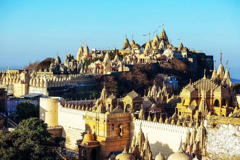 Temple in Gujarat, India.