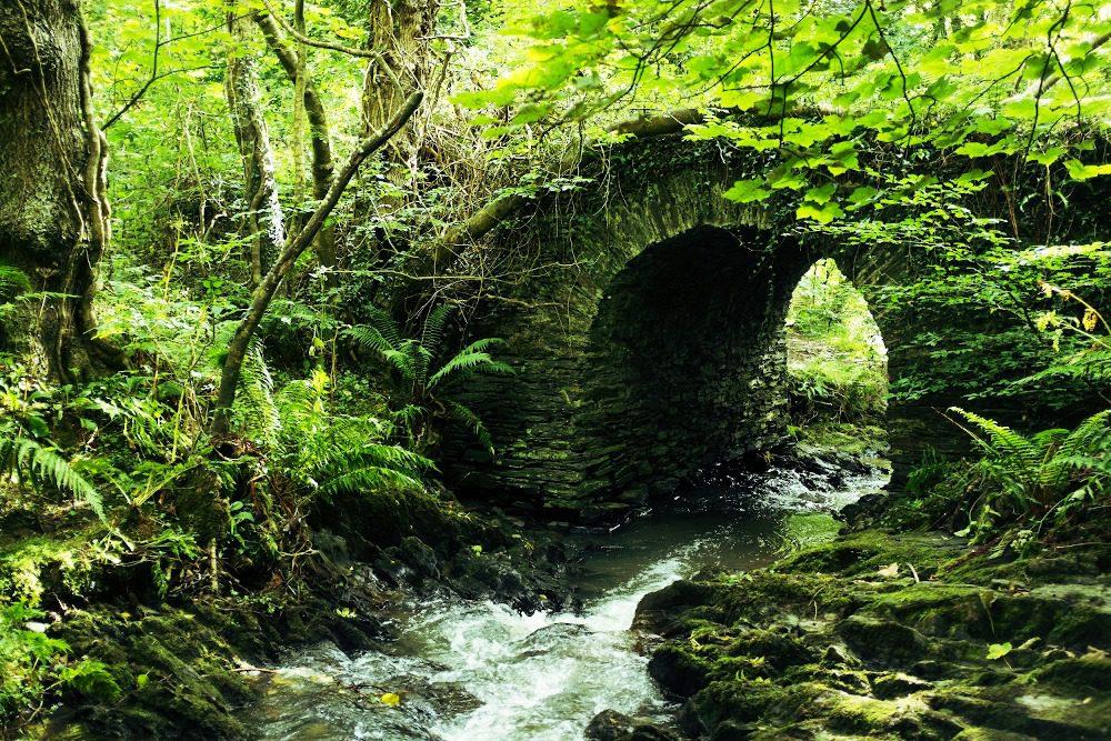 Old Fairy Bridge on the Isle of Man