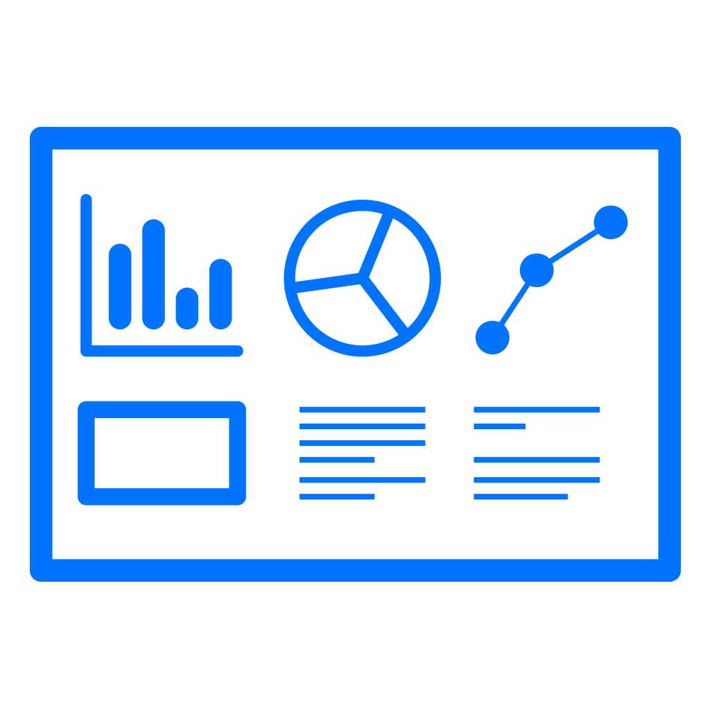 <b>Custom dashboards available</b> <span>Export your user data to CSV</span>